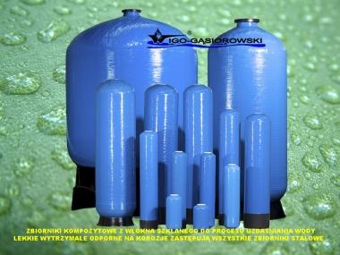 Zbiorniki Kompozytowe do Filtrów Stacji Uzdatniania Wody