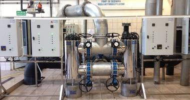 Dezynfekcja wody na lampach UV AM wodociąg publiczny