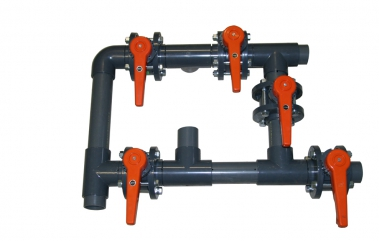 Zawory klapy automatyczne i ręczne obsługiwane