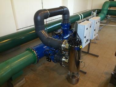 Lampa do dezynfekcji wody pitnej do wodociągu publicznego
