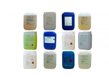 Preparaty, inhibitory chemiczne do uzdatniania wody