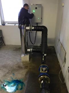 Dezynfekcja Wody na Lampie UV WG-AM4 75 m3/h