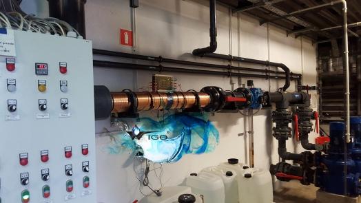 Urządzenie do Zabezpieczenia Przed Twardą Wodą 100 i 25 m3/h
